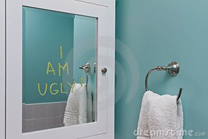 I am Ugly mirror